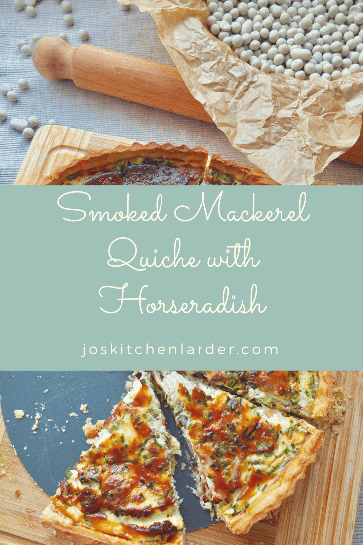 Smoked Mackerel Quiche with Horseradish