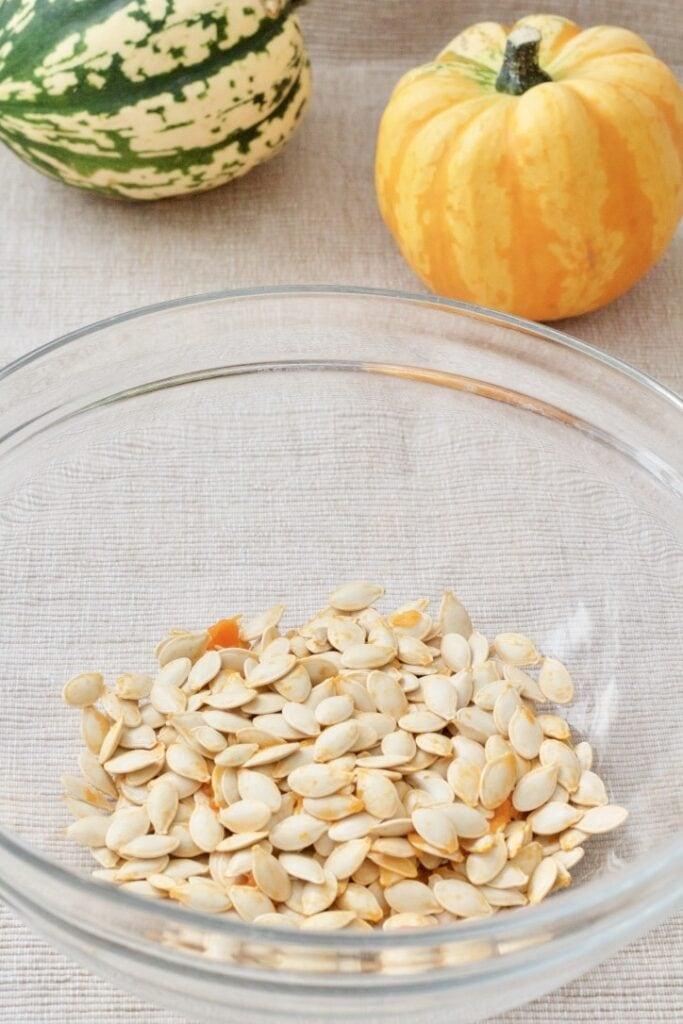 Smoked Paprika Roasted Pumpkin Seeds