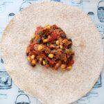 Roast Chicken Leftovers & Black Bean Enchiladas