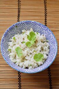 Easy Indian Spiced Basmati Rice