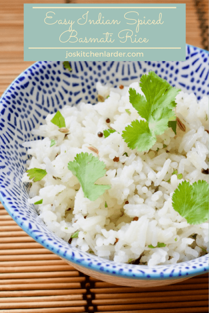 Easy Indian Spiced Basmati Rice