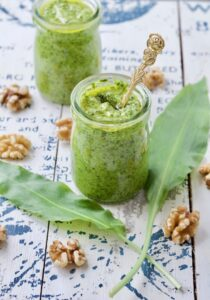 Wild Garlic & Walnut Pesto