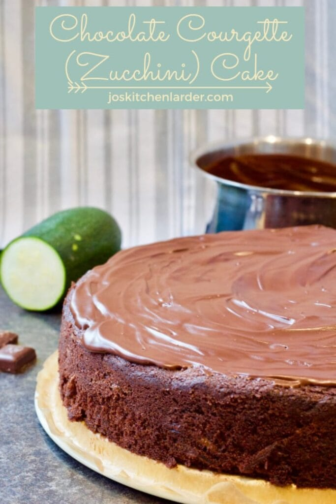 Chocolate Courgette (Zucchini) Cake
