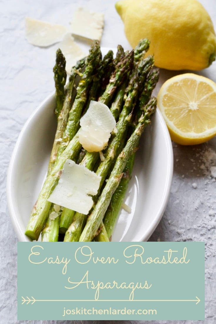 Oven Roasted Asparagus makes a fantastic and elegant veggie side which is quick and easy to make. Learn tips on how to make & serve this seasonal delight. #ovenroastedasparagus #asparagus #asparagustoppings